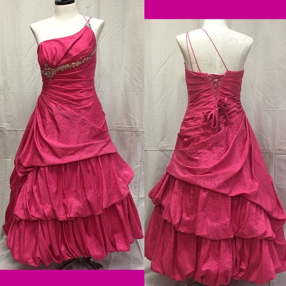 Bdazzled Dresses Size 12 Pink Beautiful Formal Dress Bedazzled